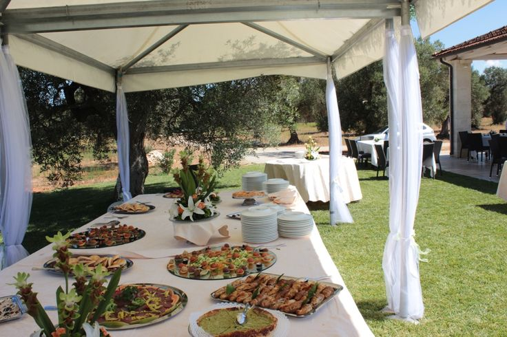 Wedding Buffet at Masseria Corda di Lana http://masseriacordadilana.it/