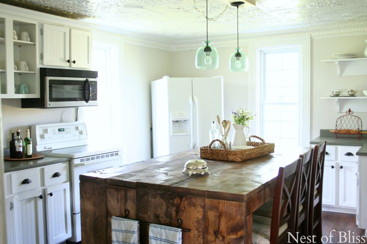 Kitchen Island Like Brandi Sawyer Nest Of Bliss