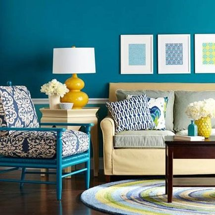 Can The Colour Blue Really Lower Your Blood Pressure? – 15 Inspirational Blue Family Rooms #blog #blue #interiors