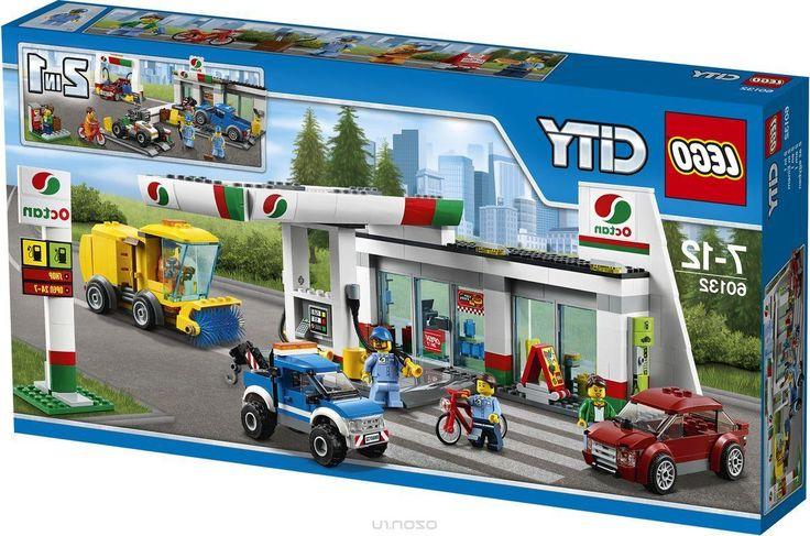 Lego City Конструктор Станция технического обслуживания 60132