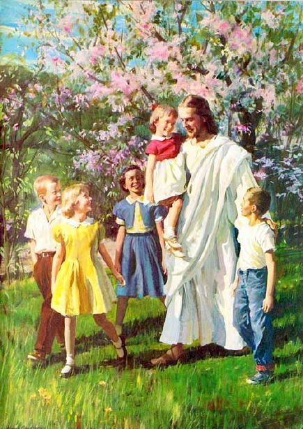 "The Friend of Children. The one song I knew by heart was ""Jesus Loves Me"". The song still swishes around in my head."