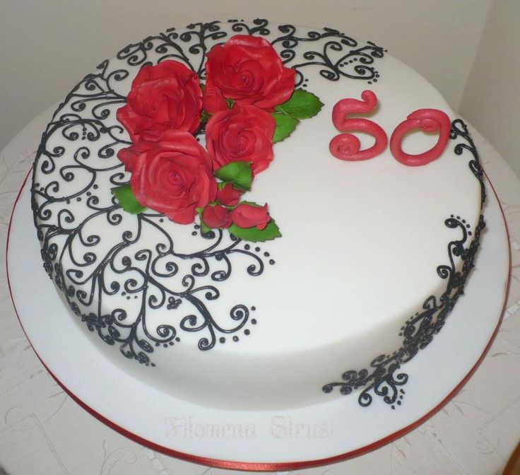 50+th'+birthday+-+Cake+by+Filomena