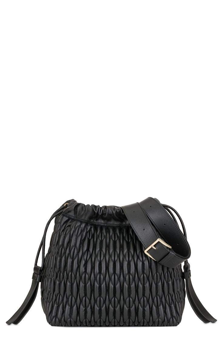 New FURLA Caos Quilted Leather Bucket Bag online. Enjoy the absolute best in Liebeskind Bags from top store. Sku jngn70756hsxp82641
