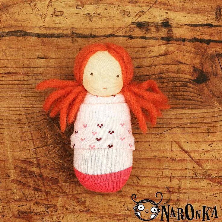Our little Naronka has moved to her two sisters living at a very kind Hungarian family. :) #waldorfdoll #doll #pocketdoll #steinerdoll #waldorfinspired #waldorfmom #redhead #pink #sockdoll #ragdoll #etsyseller #etsy #etsyshop #meska #waldorfbaba #baba #gyapjú #wool #natural #naturaltoy #dollart #sewing #handmade #handmadedoll #heart