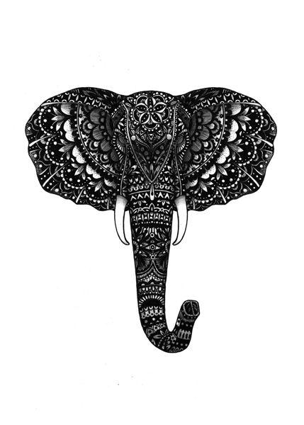 elephant. animals series https://www.behance.net/eivanafer51df
