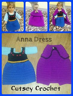 Anna dress for American Girl 18' doll, This is me a great idea for a tutu dress I want to make, I can use the example of the dress top and then just but the tutu