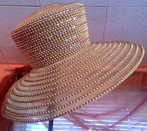 Church Hats For Black Women | Very Beautiful Church Hats Suitable For Ladies Of All Ages - Fashion ...