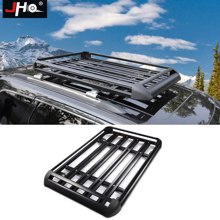 ROOF RACK SUV CARGO LUGGAGE CARRIER BASKET for Jeep Grand