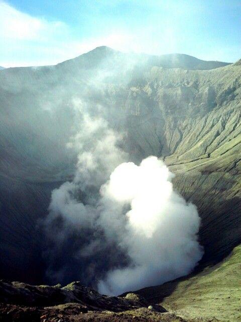 Bromo Crater #crater #bromo #view #natural #eastjava #indonesia