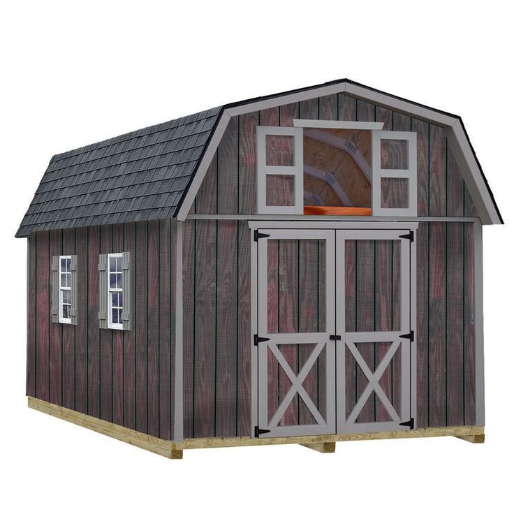 1000 ideas about shed kits on pinterest best barns for Gambrel home kits