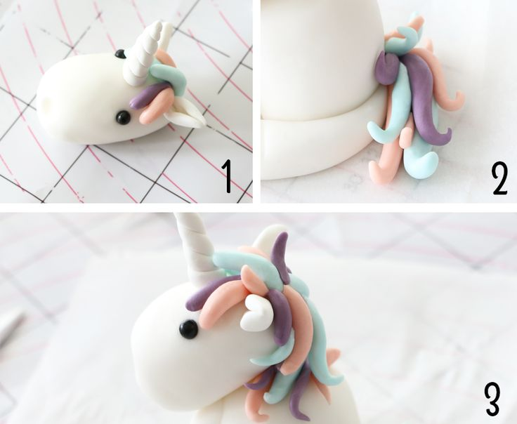 modelage licorne etape 3