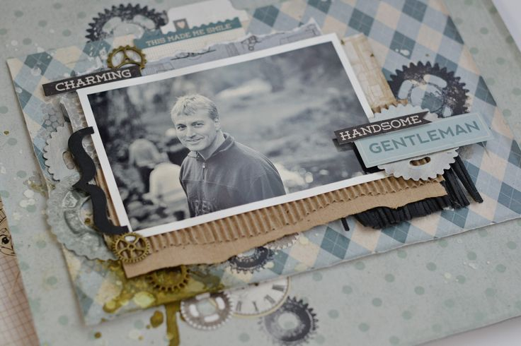 August Scrapbooking & Card Making Kit - Men