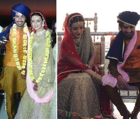 Sanaya Irani and Mohit Sehgal   Celebrity Wedding   WeddingSutra