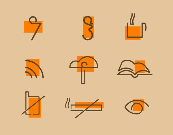 Service Signs by Omar Shammah, via Behance