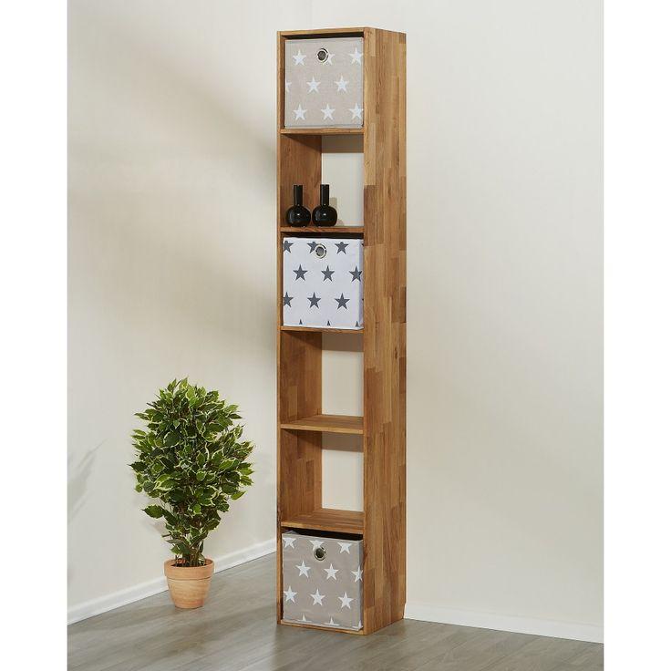 Regal Cube (6er, Eiche geölt) - Regale - Wohnmöbel - Möbel - Dänisches Bettenlager