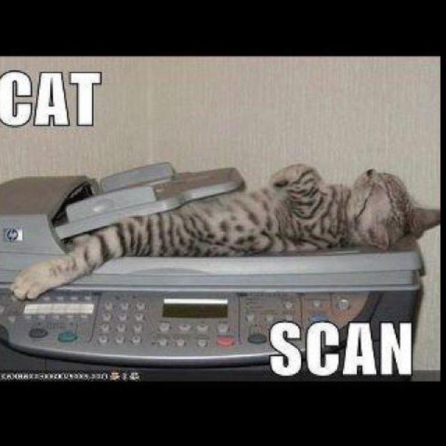 Radiology Humor! He is sound asleep lol