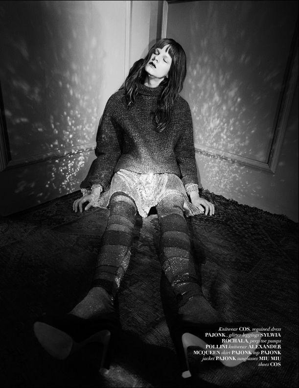 Muse Issue: The Sumnabulist by Piotr Porebsky #avantgarde #fashion #vestalmagazine #Issue13 #FallWinter2013