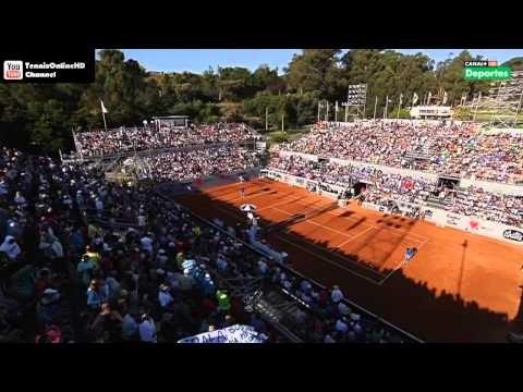 Nadal vs Zeballos - Viña del Mar (VTR Open) 2013 -Part1 Full Match HD