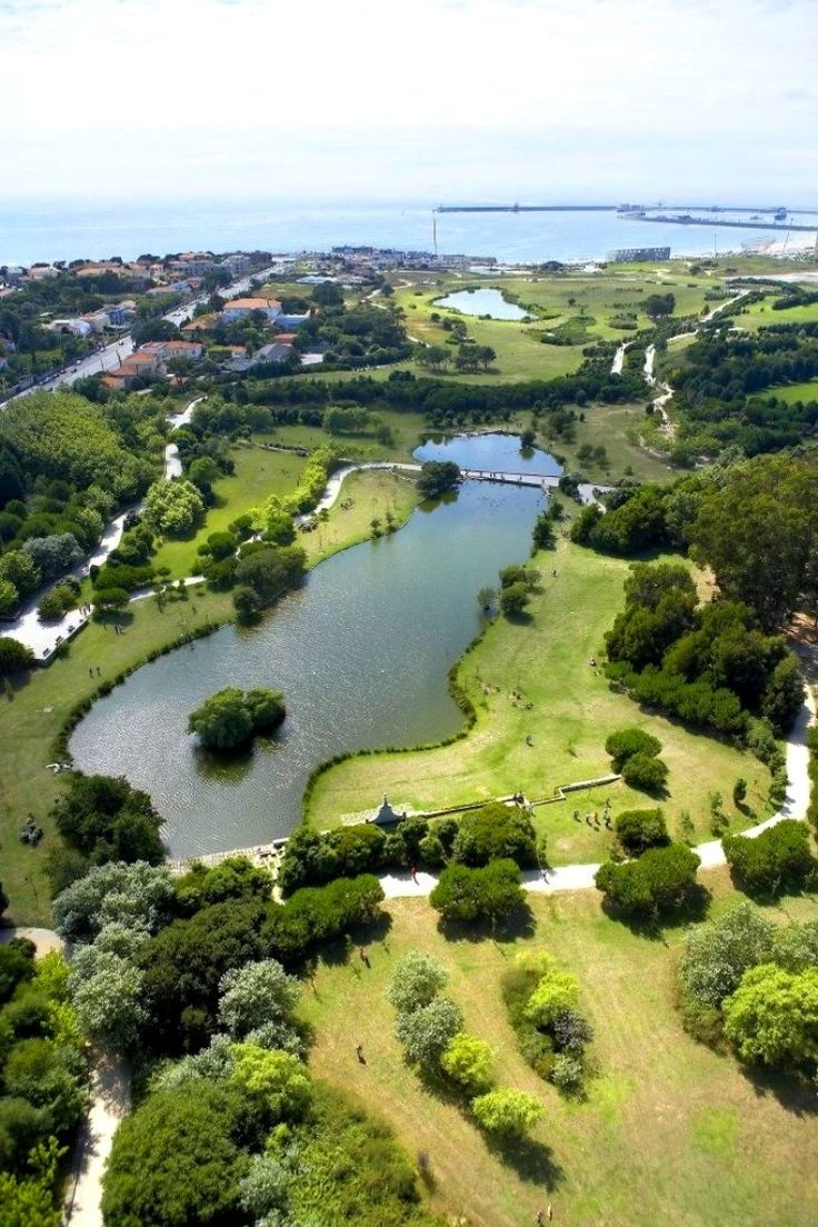 Oporto City Park, Portugal