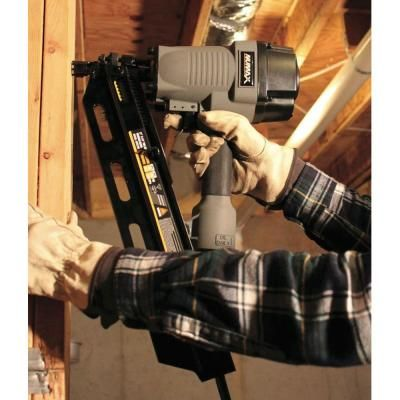 numax pneumatic 21 full head strip framing nailer sfr2190 the home depot