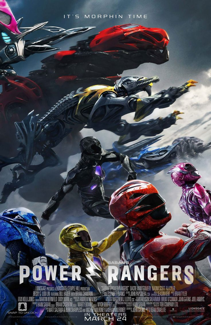 'Power Rangers' e seus Megazords no cartaz final do filme | CinePOP