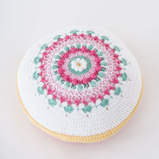 867 Best Round Pillow Images On Pinterest Crochet Pillow Round