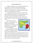 TeAchnology:  Printable Hurricane and Tornadoes Teaching Worksheets