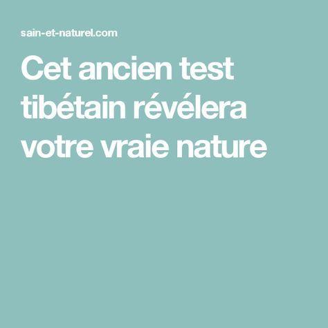 Cet ancien test tibétain révélera votre vraie nature