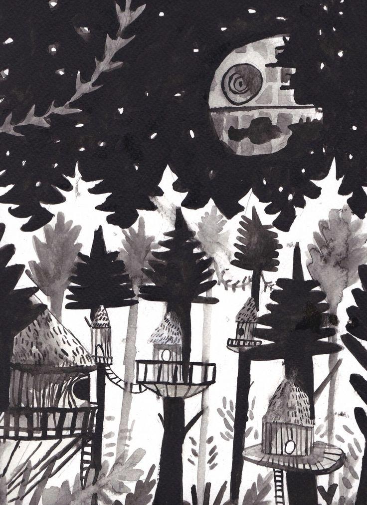 Endor by Dick Vincent Illustrations