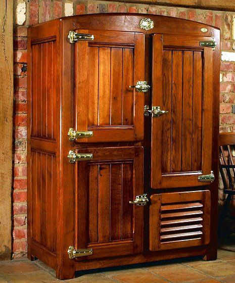 Wooden Refrigerator Cabinets ~ Best images about old wood ice box on pinterest boxes