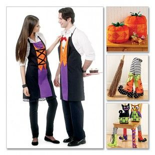 McCall Naaipatroon 6415-ADT - Halloween - thema