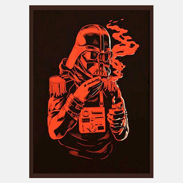 Join the dark side de Smithe - Impresión Gicleé sobre madera de abedul  http://followtheforest.com/ilustraciones/5-join-the-dark-side-by-smithe.html