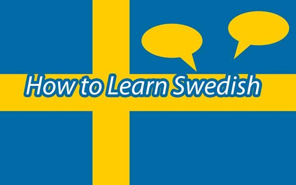 How to learn Swedish