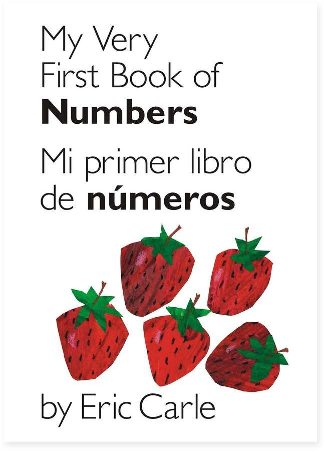 My Very First Book Of Numbers By Eric Carle English Spanish Bottom Page Number