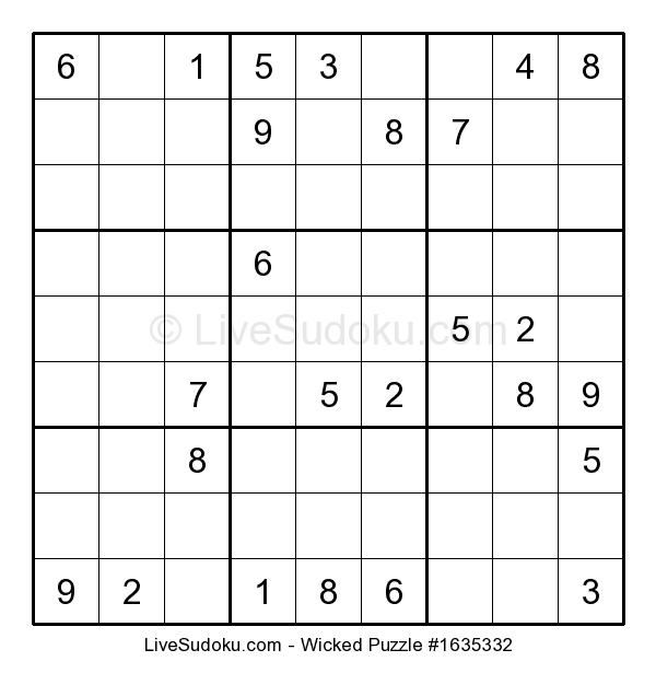 how to make a sudoku puzzle on word