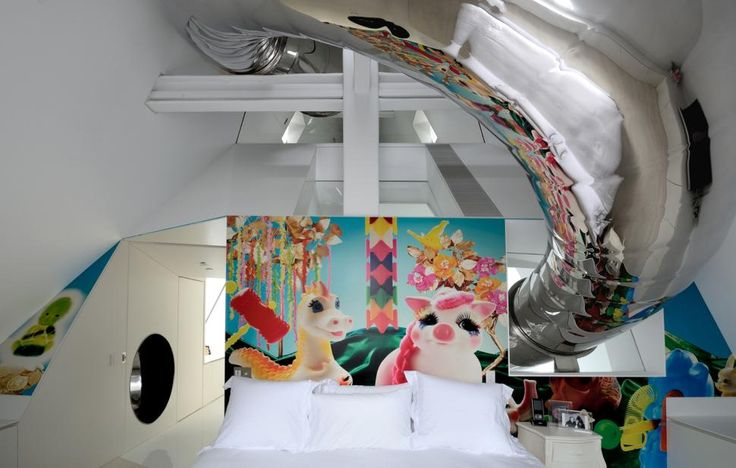 Manhattan penthouse brings out inner child with 40-foot slide - NY Daily News