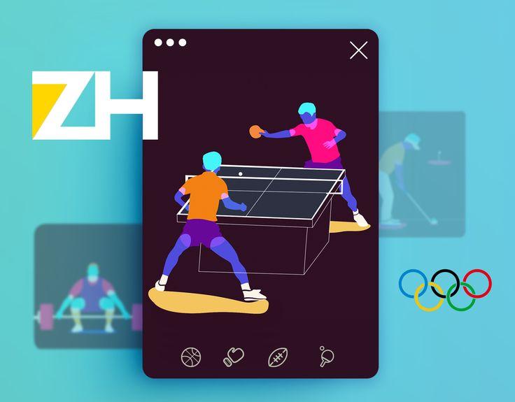 次の @Behance プロジェクトを見る : 「ZH OURO- Rio 2016」 https://www.behance.net/gallery/41501429/ZH-OURO-Rio-2016