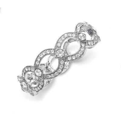 Vintage-Style Stretch Austrian Crystal Bracelet   www.glamadonnashop.com.au