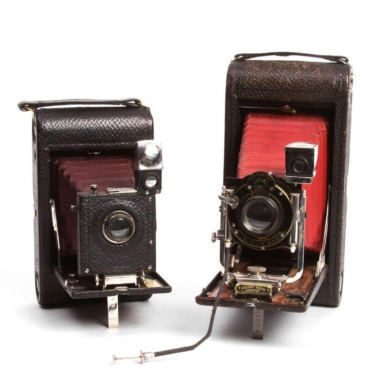 Antique Kodak No. 3 Folding Pocket Cameras