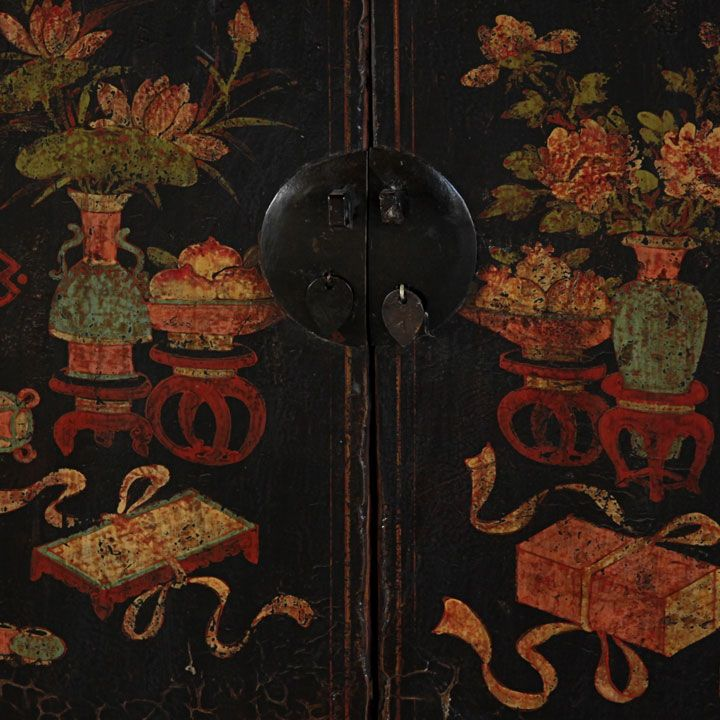 best Painted Oriental and Asian Furniture  on Pinterest