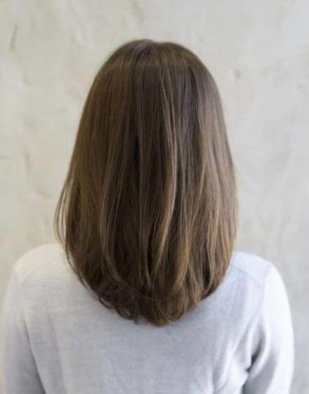 18+ Ideas Hair Brunette Cut Long Bobs #hair #shorthair