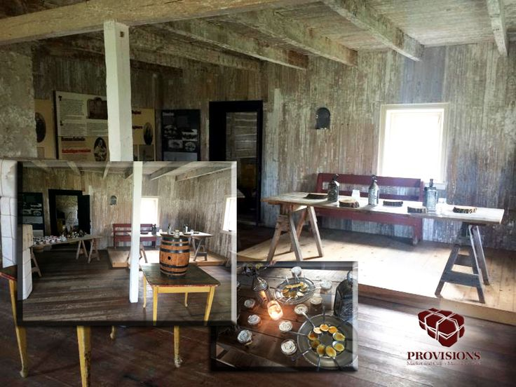 THE MENS HOUSE  Rich, rustic and packed with character describes The Men's House. Create a rustic, distinctive and upscale dining experience for 30-40 people in this amazing space.    Maximum capacities:  Seated events 30-40 people  food@provisionslowerfortgarry.com
