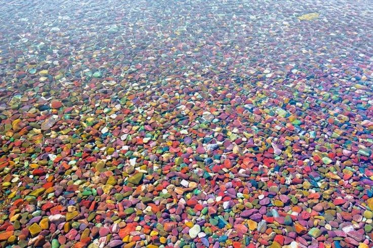 Разноцветные камушки озера Макдональд - ПоЗиТиФфЧиК - сайт позитивного настроения!
