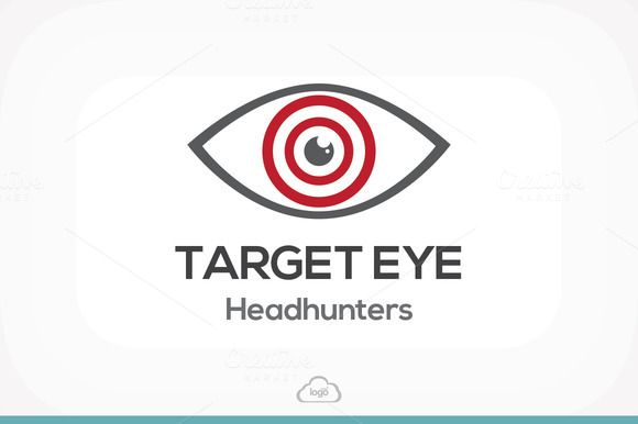 Check out Target Eye Logo Template by Logo Heaven on Creative Market -> http://crtv.mk/aleF