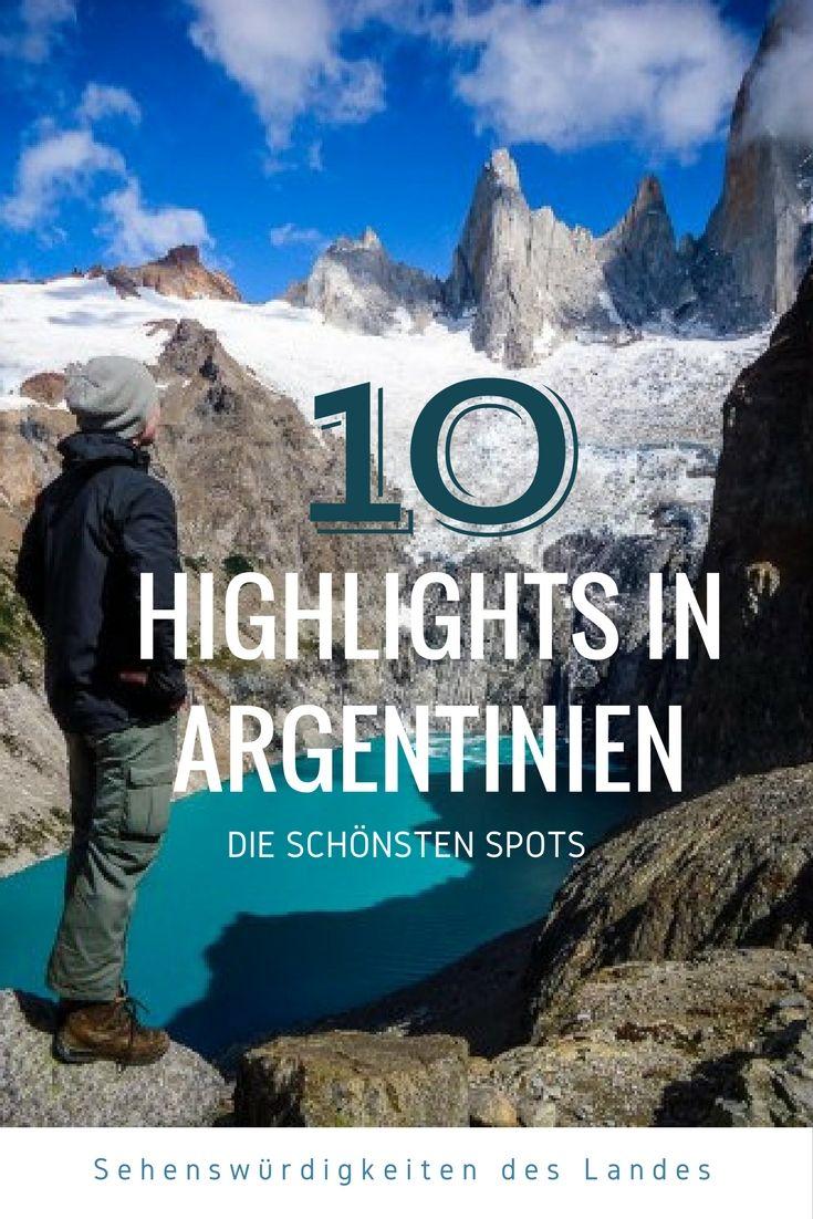Hier findest du eine Liste mit den Highlights und Top-Sehenswürdigkeiten in Argentinien, die man unbedingt gesehen haben muss.