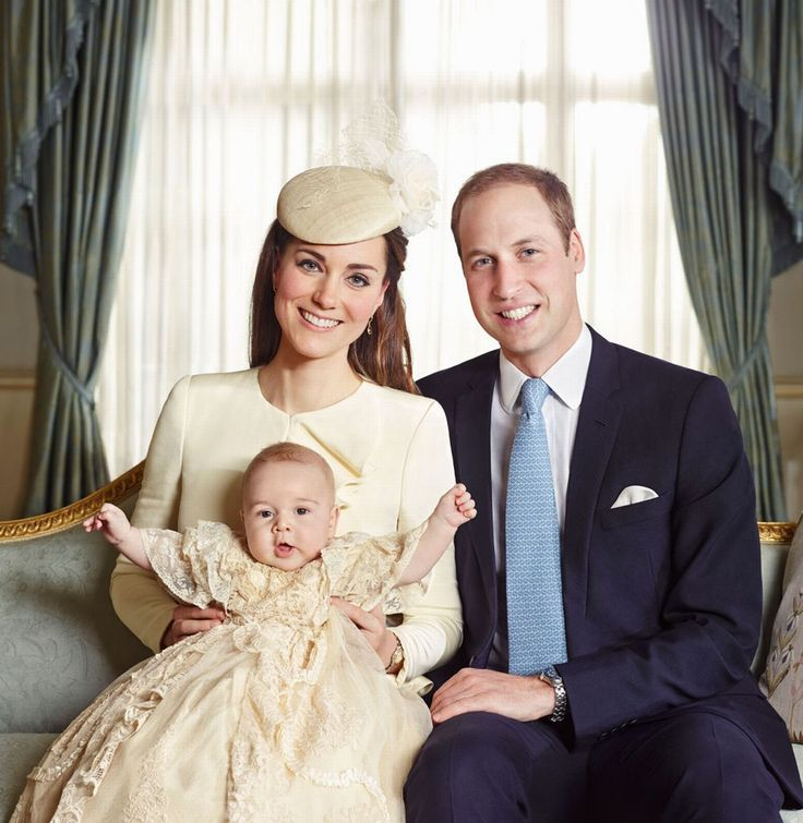 Prince George's christening official photographs: First pictures of Royal family and Middleton family together after the ceremony