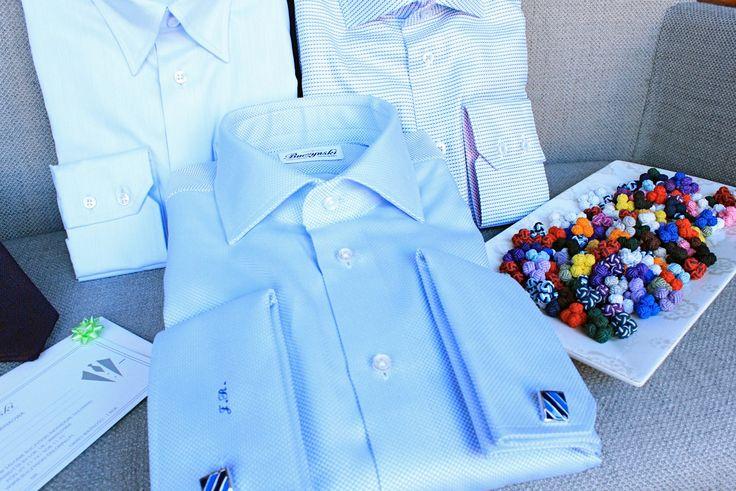 https://www.facebook.com/media/set/?set=a.10152790465124844.1073742294.94355784843&type=1  #fashion #style #menswear #mensfashion #mtm #madetomeasure #buczynski #buczynskitailoring #shirts #tailoring