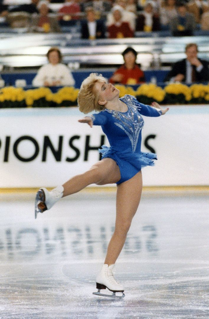 Tonya Harding at the U.S. Nationals in Tacoma, Wash., in 1987. Tom Treick/The Oregonian