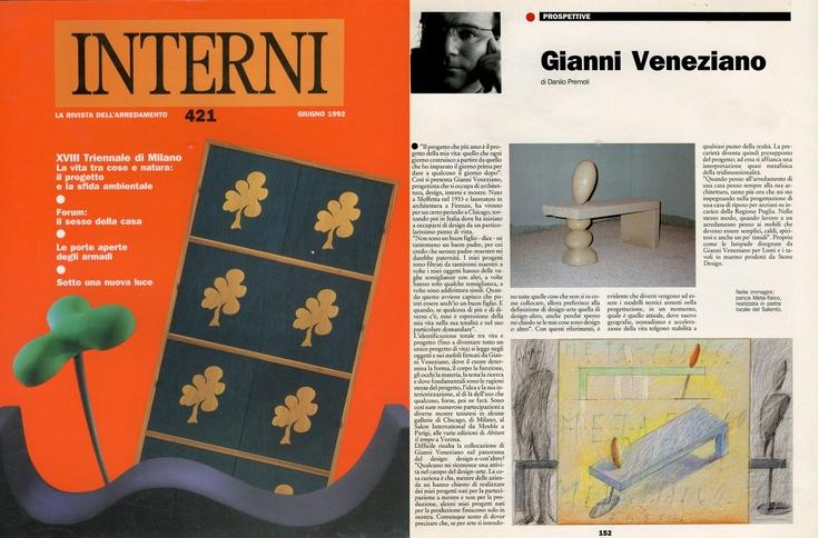 Gianni Veneziano   1992 Interni 421