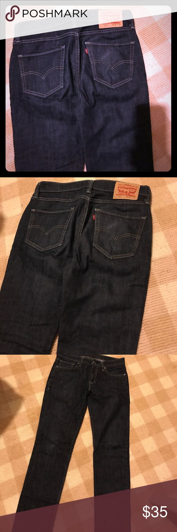 Men's New Levis Jeans -32X34 New Without tags -  511 -32x34 Levi's Jeans Straight
